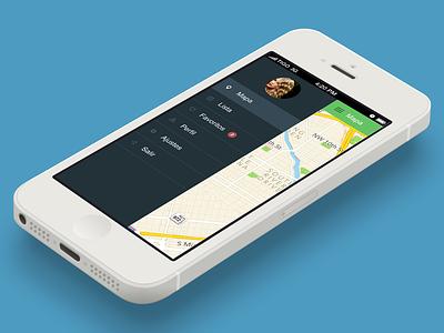 Citysomething for iOS ios menu sidebar ideaware