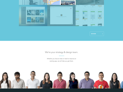Ideaware homepage update homepage agency ux ui landing