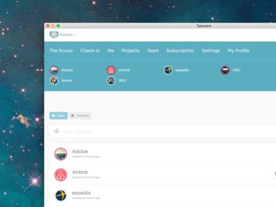 The Taskware Desktop App