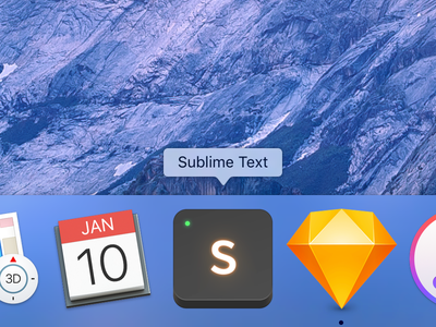 Sublime Text Icon mac icon sublime