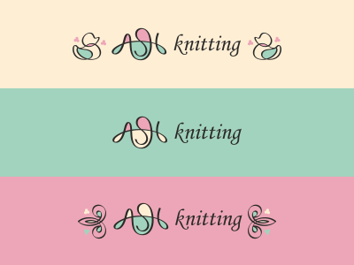 Ash Knitting monogram letter kid man woman clothes comfort soft knitting ash