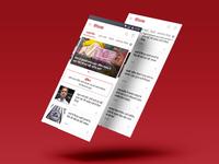 Live Hindustan News homepage redesign