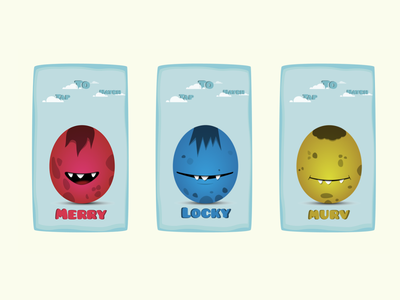 Locky Eggs mobile game design