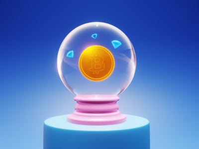 bitcoin  predictions animation crypto graphic design 3d art lowpoly 3d bitcoin