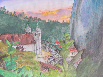 LANDSCAPE WATERCOLOUR PAINTING watercolor watercolor painting paintings landscape landscape illustration portrait illustration design sketch illustration