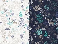 Winter/Autumn Wonderland | Pattern