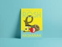 Jewish High Holidays Posters | Rosh Hashanah