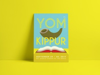 Jewish High Holidays Posters | Yom Kippur