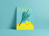 Jewish High Holidays Posters | Sukkot