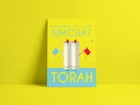 Jewish High Holidays Posters | Simchat Torah