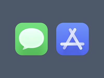 Big Sur Icons 3d icon app