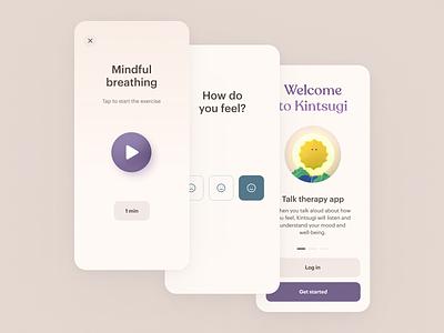 Kintsugi product design 3d product design branding app design ux ios ui