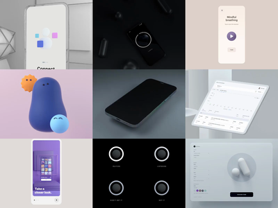 2020 Rewind product design interaction design ux animation 3d