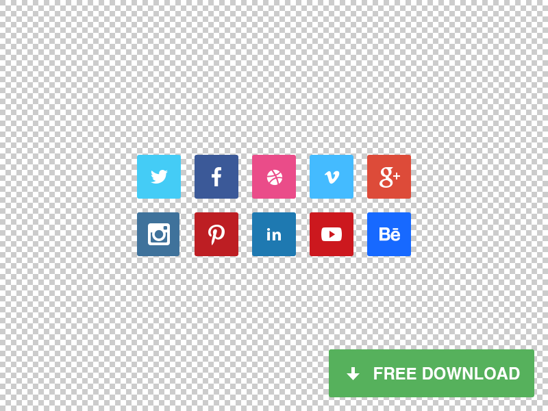 Tiny Social Icons - Download for free freebie tiny social icons facebook twitter dribbble