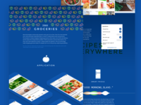 Groceries redesign concept