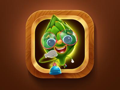 Veggie Run Game Icon