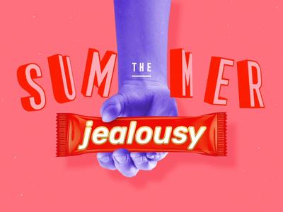 Jealousy Blocker design art design art direction video digital digital art summer collage collage art 2d animation animation animated motion design motiongraphics motion