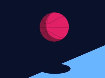Two Dribbble Invites design illustration draft 2d animation dribbble invite