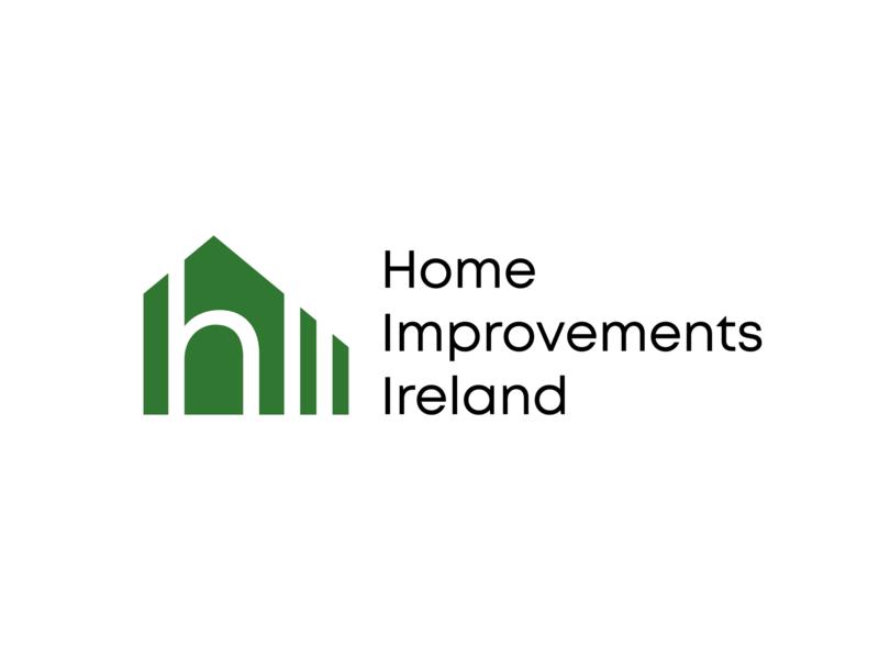 Home Improvements Ireland Logo ireland logotype logo