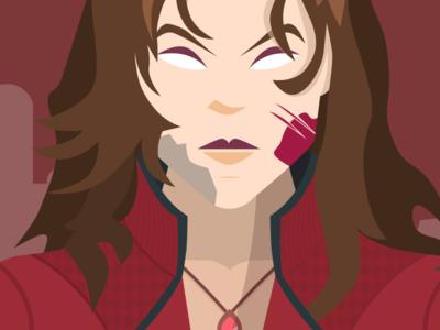 Scarlet Witch in Marvel's Civil War