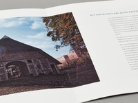 Altes Haus Kiel Imagebroschüre