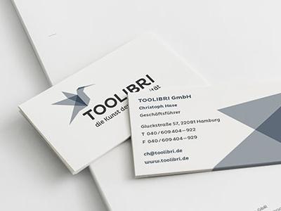 TOOLIBRI letterhead logo branding corporate design letterhead 2014