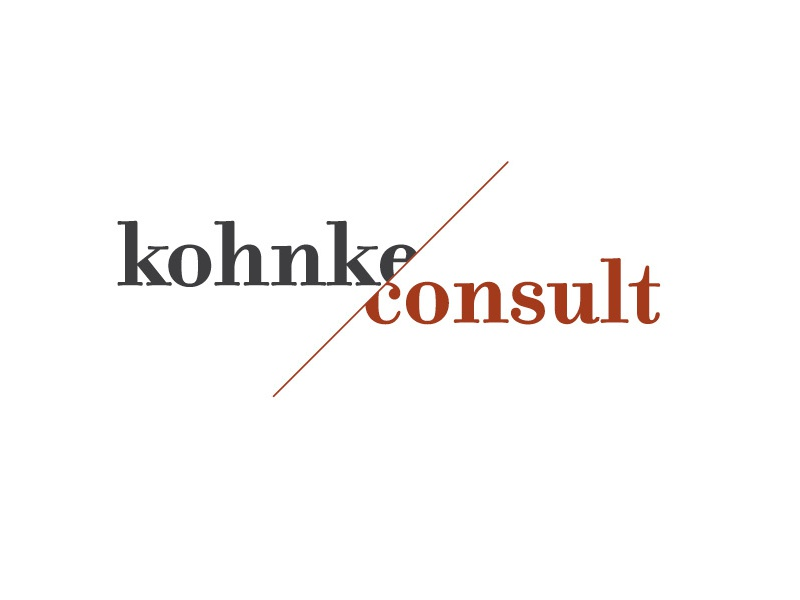 Kohnke Consult 2016 logo corporate design