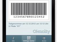 Okacity App Gutschein