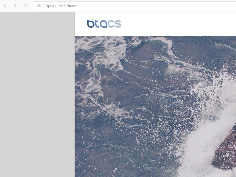 Btacs 2015 Home btacs rwd website ux ui kiel internet germany design browser