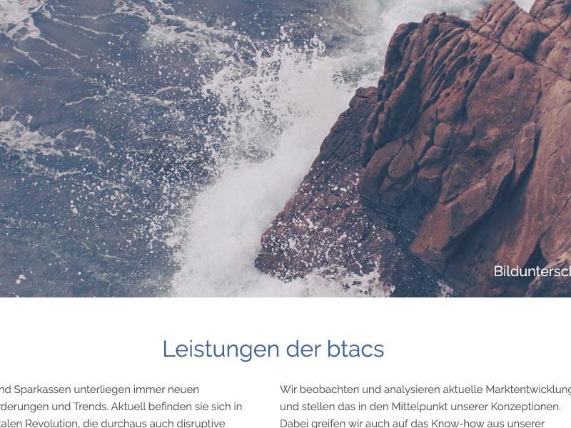 Btacs 2015 Leistungen btacs rwd website ux ui kiel internet germany design browser