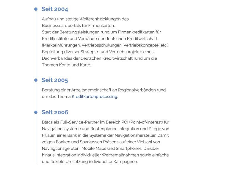 Btacs 2015 Referenzen btacs rwd website ux ui kiel internet germany design browser
