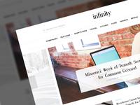 Infinity - Magazine PSD