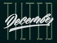 1/31: Tilted December
