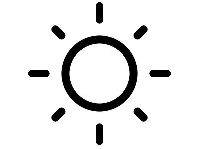 BettrMe: White and Black inspirational flat logo creative logo sun graphic design graphic vector branding icon design adobe illustrator illustrator logos logotype logo design