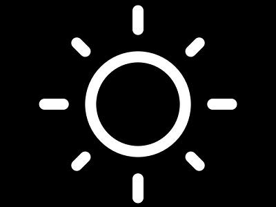 BettrMe: Black and White graphic design illustration vector adobe illustrator illustrator brand inapirational icon design logodesign logo sun black  white black