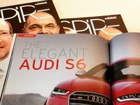 Aspire Magazine Layout
