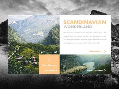 Travel to Norway wordpress icon ux design ui typography photoshop product design ui  ux design ui ux ux designer