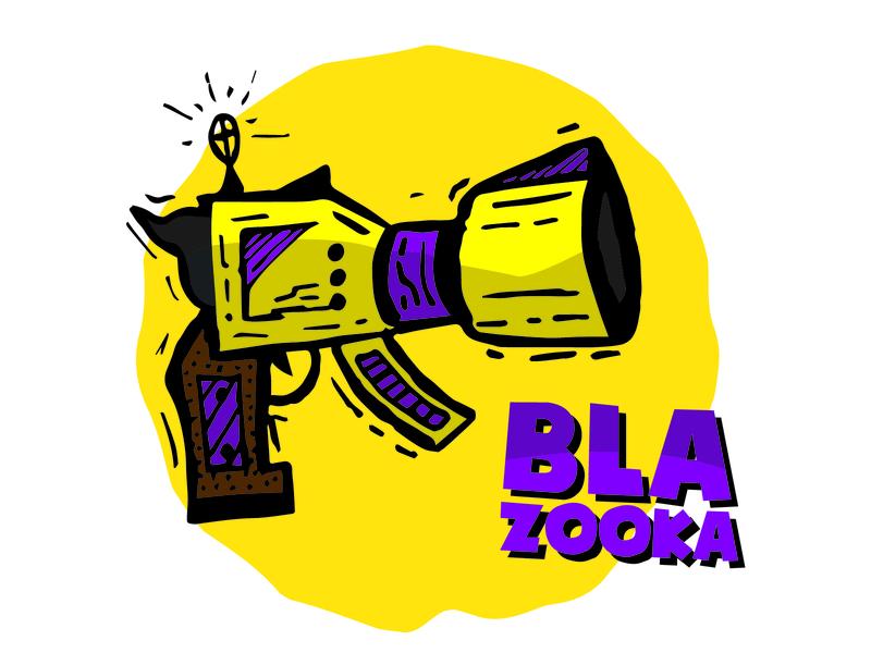 Bla - Zooka Illustration adobe illustrator design illustration icon vector graphic illustrator
