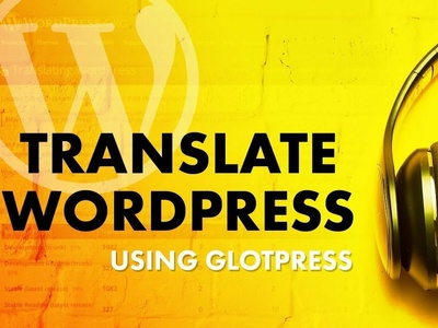 YouTube Thumbnail Series: Translate WordPress photoshop wordpress youtube