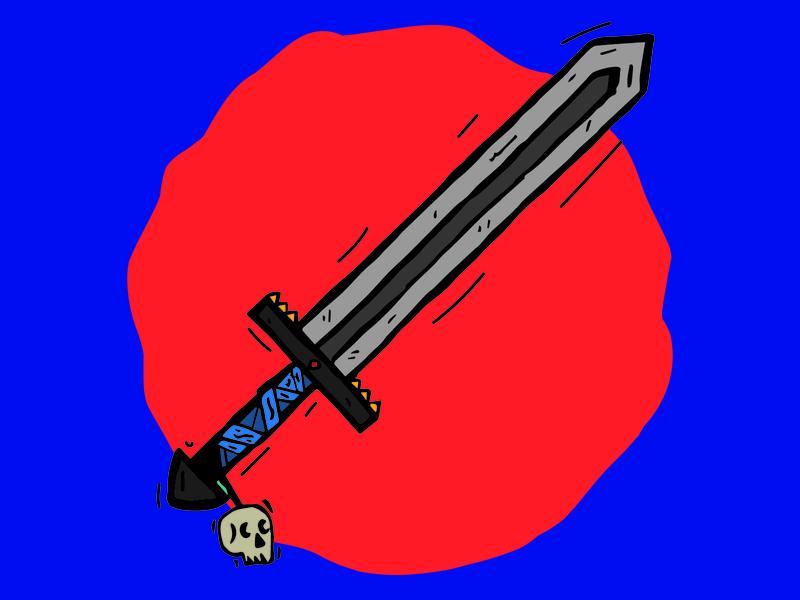 Goblin Slaya - Sword Illustration illustrator adobe illustration fantastic sword fantasy