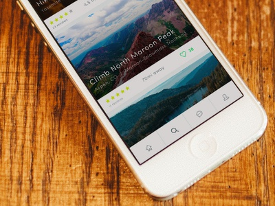 Something New photo review outdoors image hike climb app iphone ios