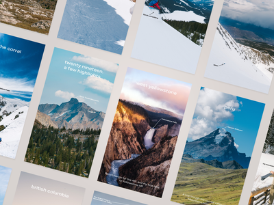 My 2019 Highlights mountains travel outdoors photography social instagram stories storybook 2019 instagram