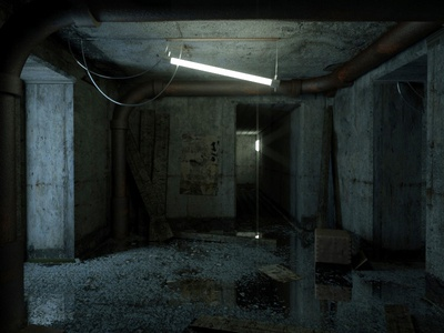 Stay Hidden 3d octane interior creepy cgi everyday cinema 4d