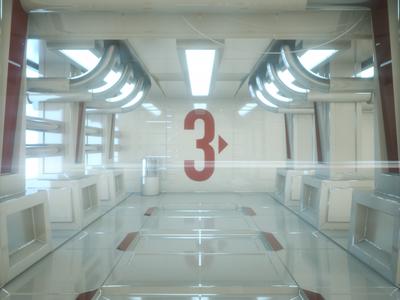 Everyday render #315 / Mandatory Space Corridor maxon otoy cgi interior render octanerender octane 3d c4d cinema4d