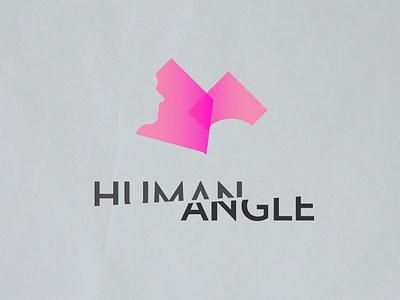 Human Angle // Branding logo branding video series design geometry polygon vox