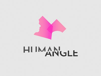 Human Angle // Branding logo branding video series design geometry polygon vox