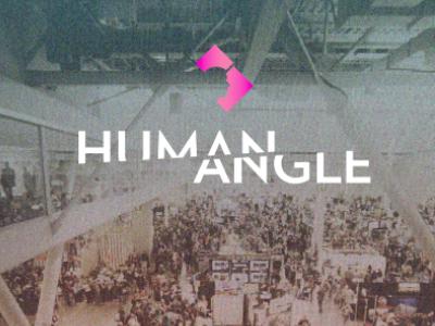 more Human Angle logo branding video series design geometry polygon vox