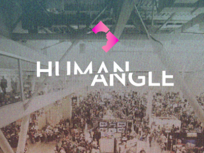 more Human Angle logo branding video series design geometry polygon vox