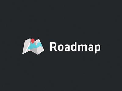 Roadmap Logo vox branding map logo
