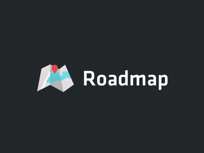 Roadmap Logo vox branding map logo